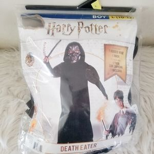 Harry Potter death eater costume mask and robe